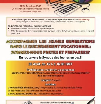 Conférence Webinar 2017- Accompagner les jeunes