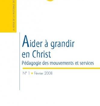 Couverture Eglise et Vocations n°1 - février 2008