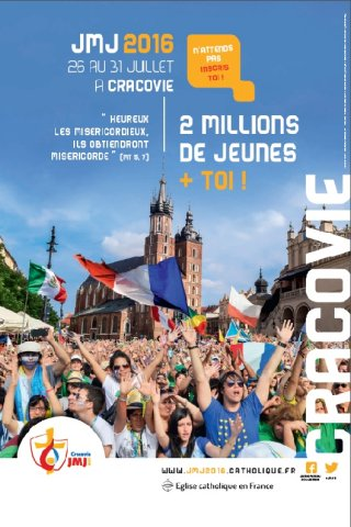 affiche JMJ cracovie 2016