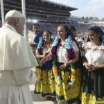 pape françois jeunes mexicains