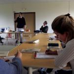 FRANCE : ASSOCIATION COURS ALPHA FRANCE - WEEK-END ANNUEL ORGANISE PAR LA PAROISSE SAINT-PIERRE DU GROS CAILLOU ( PARIS ) DANS LES LOCAUX DE LA COMMUNAUTE DES BEATITUTDES, AUX ESSARTS PRES DE ROUEN. UN WEEK-END DE REFLEXION POUR LES PARTICIPANTS DES COURS ALPHA DE CETTE PAROISSE VENUS ECOUTER DES ENSEIGNEMENTS, VIVRE DES TEMPS DE PARTAGE ET DE PRIERE.