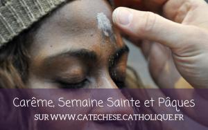 Carême, Semaine Sainte, Pâques - Visuel Catéchèse