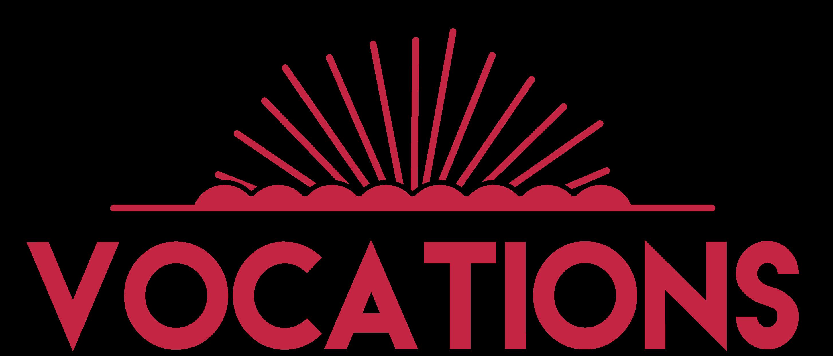 Logo Vocation rouge