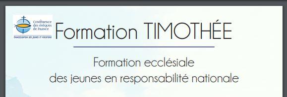 Formation Timothée