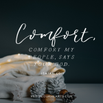 comfort my people